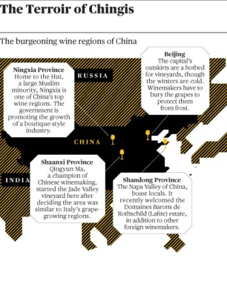 China vineyard regions